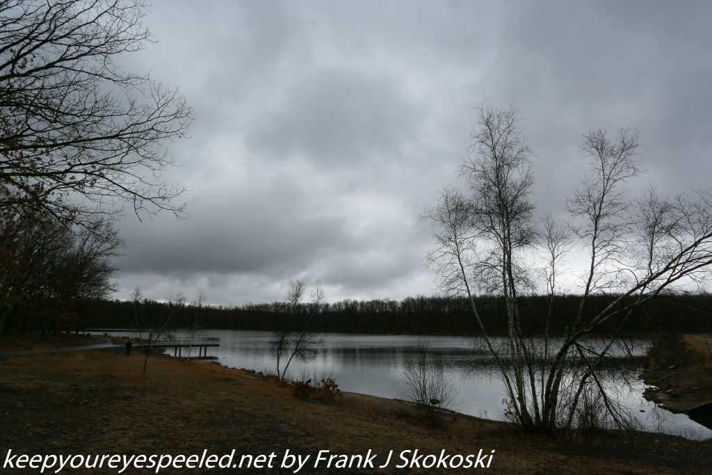 cloudy skies at Lake Irena