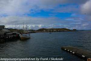 ship in harbor
