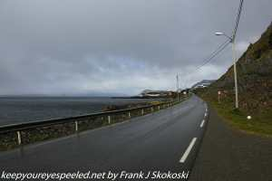 highway along fjord