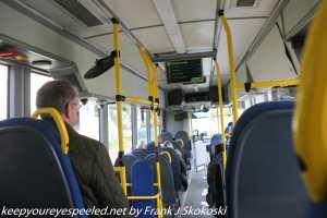 bus ride in Tromso