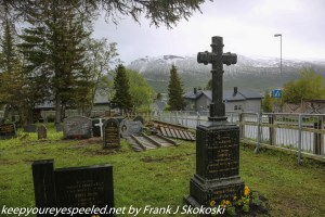 cemetery view of mountains