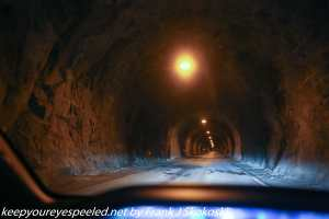 tunnel along highway