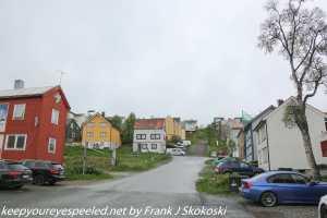 residences on Tromso hillside