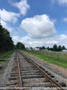 railroad tracks near McAdoo