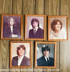 Frank , John Linda Joseph and Michael children of Marie