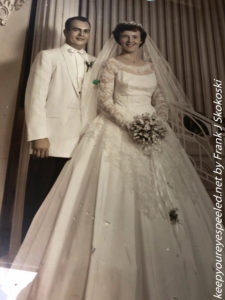 mom and dad's wedding photo