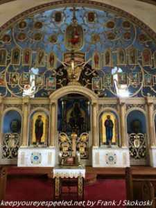 altar in St. Michael's Church