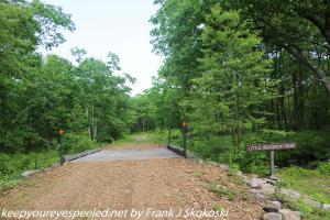trail over Little Nescopeck Creek