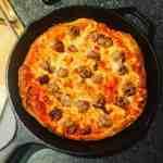 Keeva Eats Belfast Food Blog Cast Iron Skillet Pizza