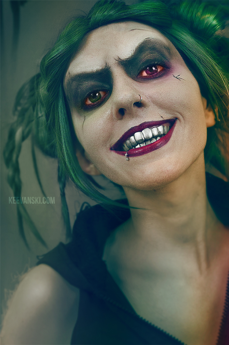 Female Joker Makeup Jared Leto Ideas By Keevanski