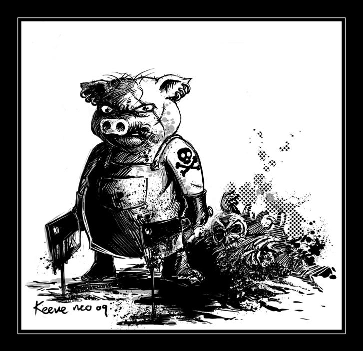 Killer-Swine-bw