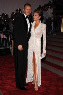 David and Victoria Beckham 2008