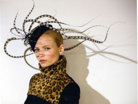 philip treacy feather fascinator