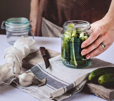 Fermentované uhorky