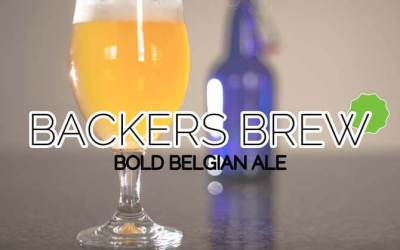 BACKERS BREW – a Bold Belgian Ale