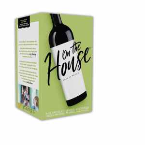 homebrew wine kits uk - on the house blush