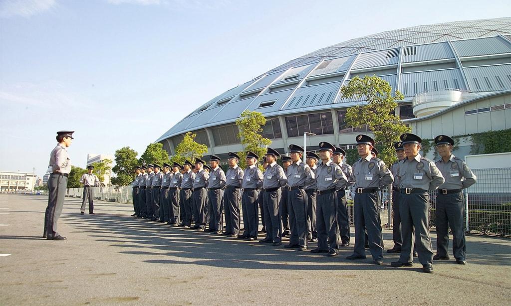 ナゴヤドーム野球開催時警備