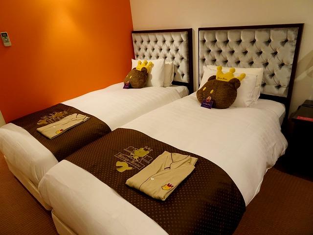 ホテルケーニヒスクローネ神戸のベッド