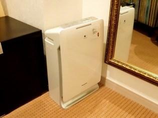 ホテルケーニヒスクローネ神戸の空気清浄機