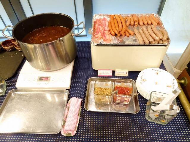 ホテルケーニヒスクローネ神戸の朝食バイキング