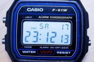 チプカシF-91Wこそ最強の腕時計である