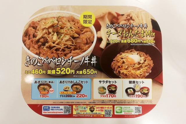 ペペロンチーノ牛丼