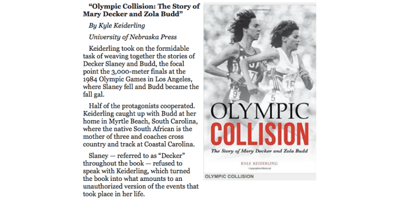 Olympic Collision - Portland Tribune Holiday Gift