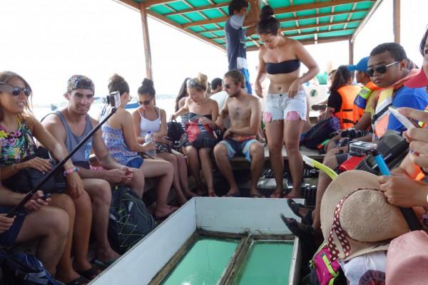 ギリ島船内