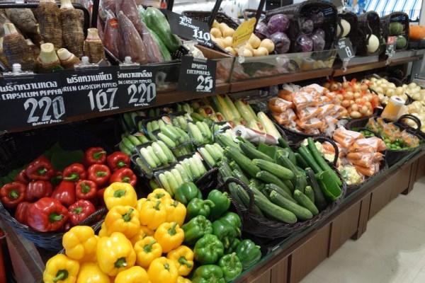 バンコク野菜