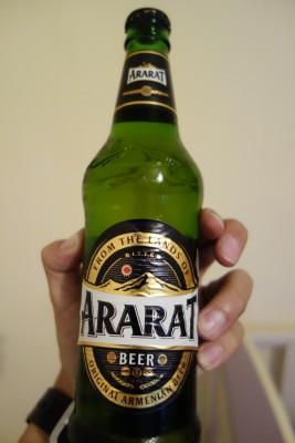 アルメニアではメジャーなビールです。