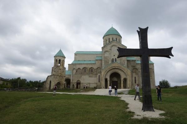 世界遺産のバクラティ大聖堂。
