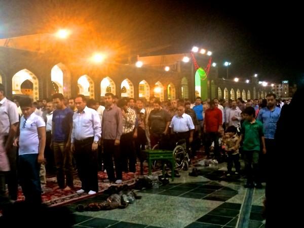 マシュハドの礼拝