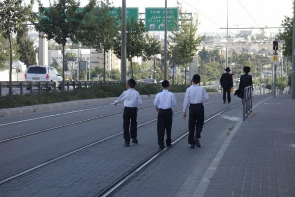街を歩く正統派。