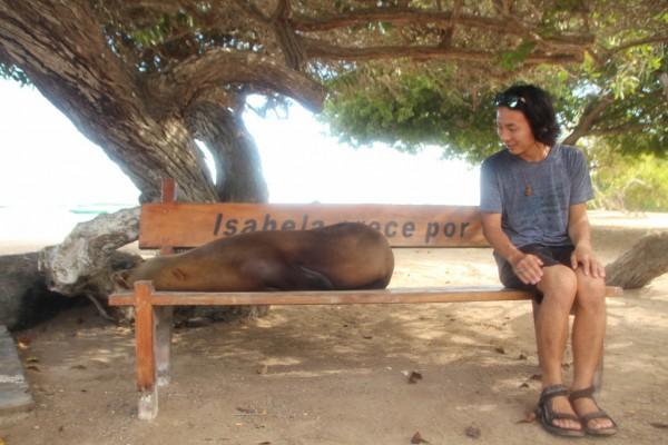 突然ですが、、、ガラパゴスにいます♡‼