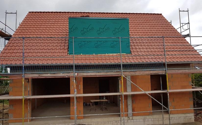 Das Dach ist gedeckt