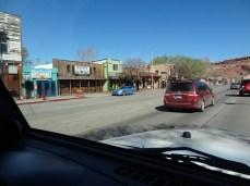 Main Street US 191 - North View