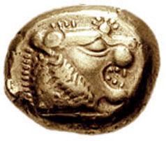 Über 2500 Jahre alte Münze