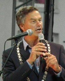 Bernt Schneiders, derzeitiger Bürgermeister in Haarlem