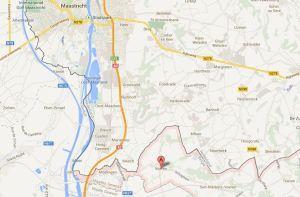 Zur geografischen Einordnung - die belgische Umgebung von Maastricht