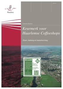 Keurmerk Coffeeshops Print (verschoben)