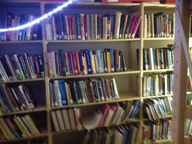 Teil der Bücherei
