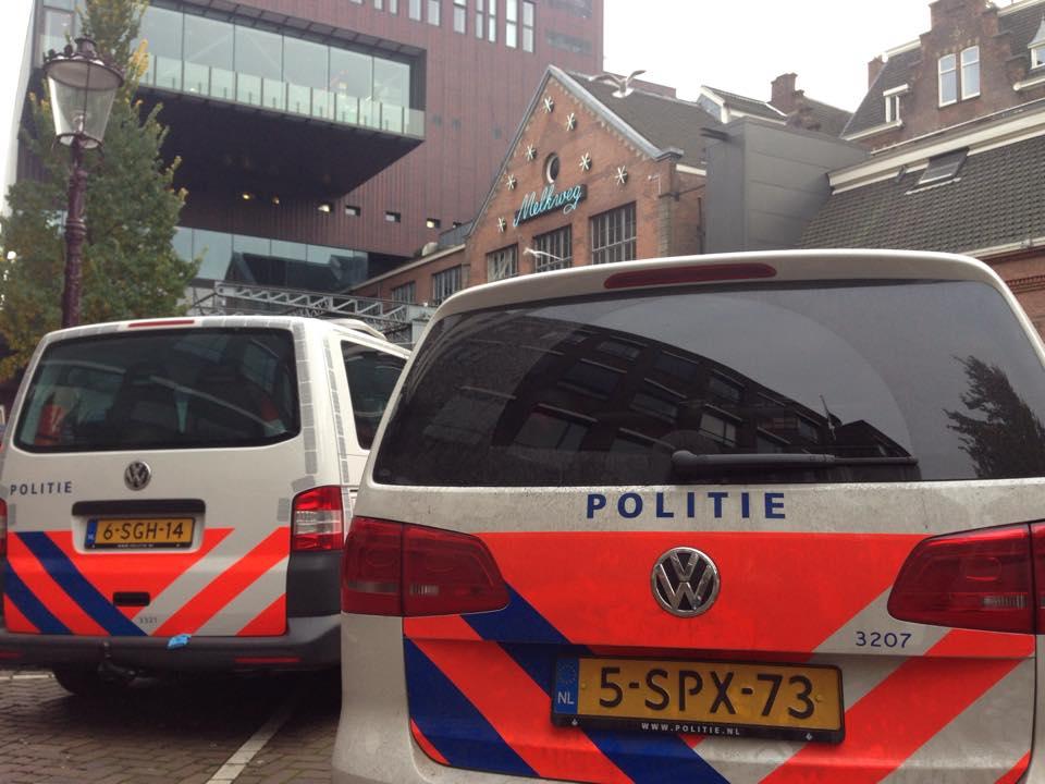 Es waren dann doch ein paar weniger Polizisten, die nach dem Rechten gesehen haben....
