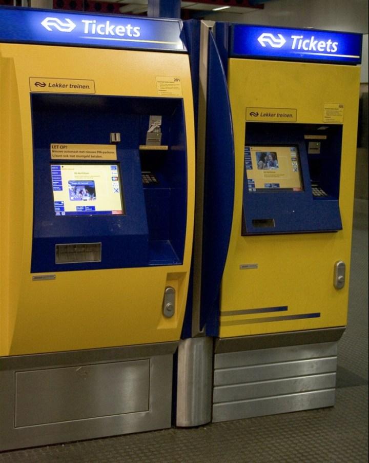 NS-Fahrkartenautomat
