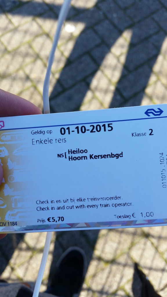 Zug-Ticket nach Hoorn