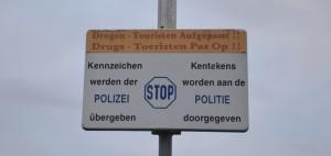Drogentouristen werden in Heereln gewarnt...