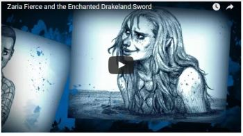 Book Trailer for Zaria Fierce and the Enchanted Drakeland Sword
