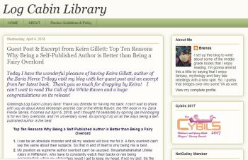 Blog Tour Stop: 10 Reasons Why Being an Author is Better than Being a Fairy Overlord