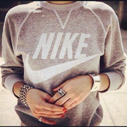 sporty sweatshirt