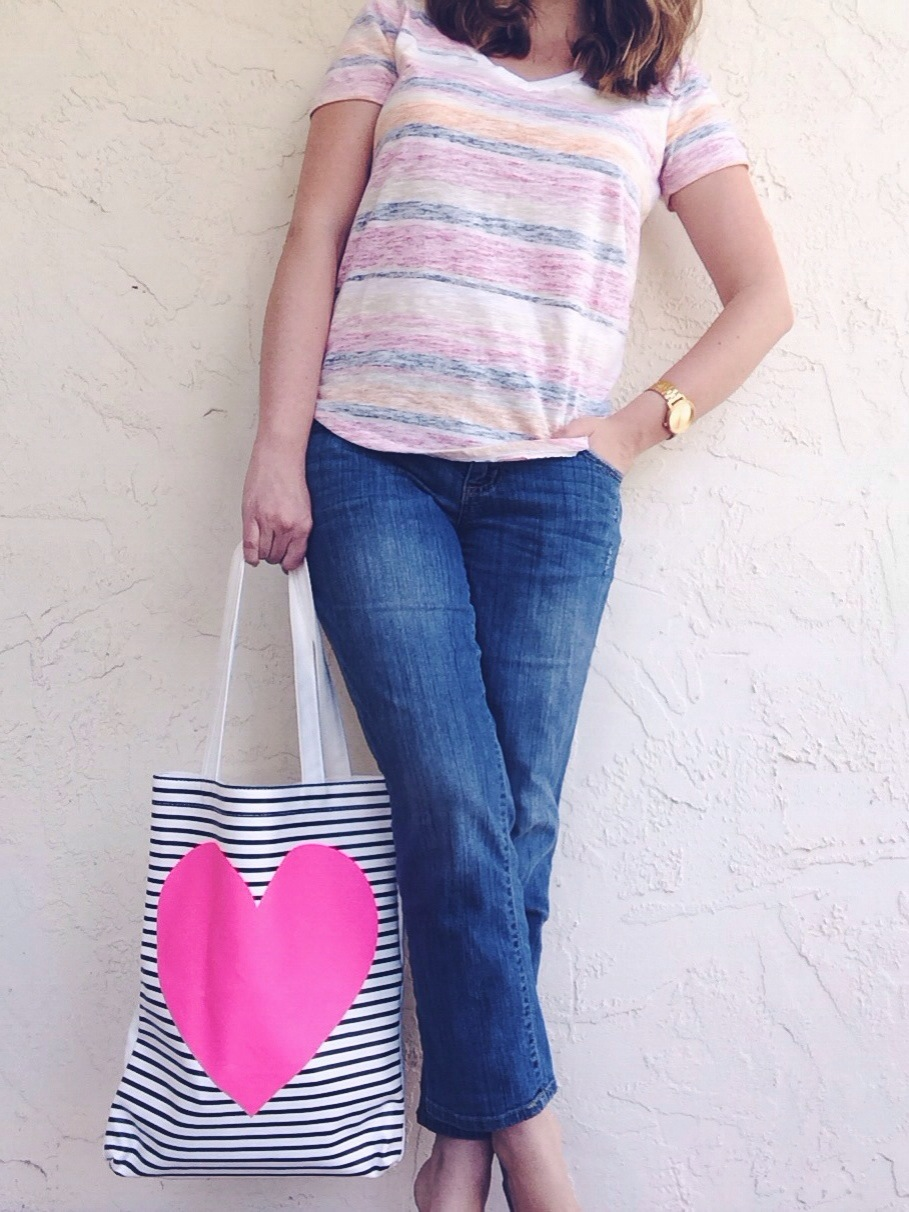 A Pretty Penny - T-Shirt & Jeans