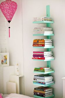 vertical book storage